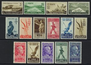 15 different Italian East Africa Stamps packet