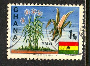 Ghana; 1967: Sc. # 286: O/Used Single Stamp