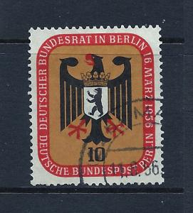 Germany 1955 Scott 9N116u scv $0.75 less 50%=$0.38 BIN