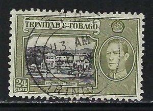 TRINIDAD &TOBAGO 58 VFU V735-2