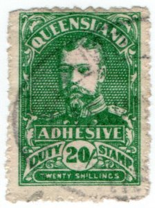 (I.B) Australia - Queensland Revenue : Adhesive Duty 20/-