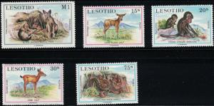 Lesotho SC459-461 Indigenous Young Animals MNH 1984