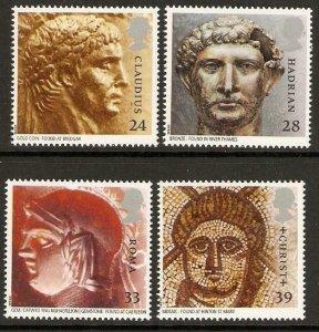 GB SG1771/4 1993 ROMAN BRITAIN MNH