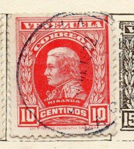 Venezuela 1911 Early Issue Fine Used 10c. NW-114549