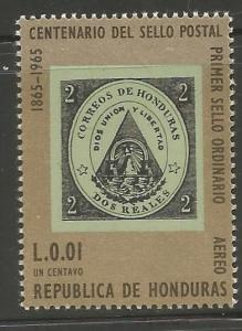 HONDURAS, C387, HINGED, POST OFFICE