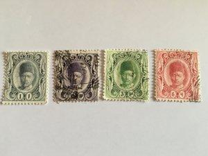 1908 Stamps From Zanzibar