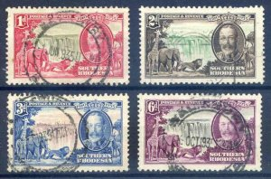 Southern Rhodesia 1935 Silver Jubilee SG31/34 Fine Used