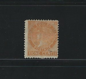 PRINCE EDWARD ISLAND - #11 - 1c QUEEN VICTORIA MINT STAMP MH