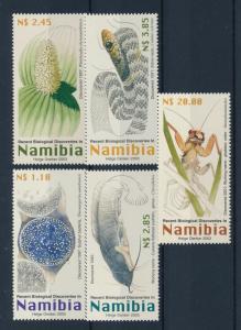 [40458] Namibia 2003 Animals Biological discoveries Catfish Snake MNH