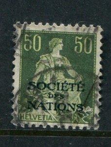Switzerland #2O 22 Used