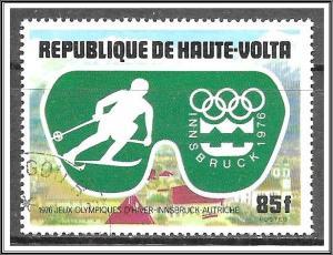 Upper Volta #386 Winter Olympics CTO