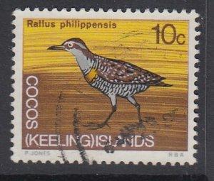 COCOS ISLANDS, Scott 14, used