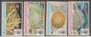 British Indian Ocean Territory Scott #44-47 Stamps - Mint NH Set