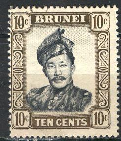 Brunei ; 1952: Sc. # 89: O/Used Single Stamp