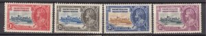 J26620  JLstamps 1935 bechuanaland proct mh #117-20 silver jubilee