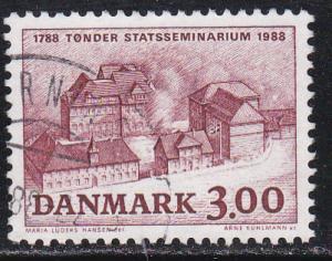 Denmark # 859, Teachers College, Used