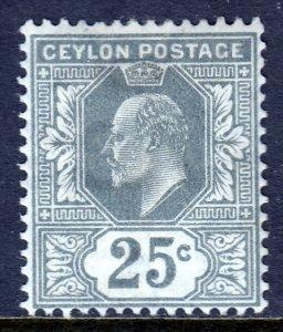 Ceylon - Scott #187 - MH - SCV $3.00