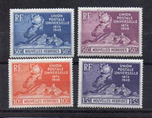 New Hebrides - French 79-82 MH