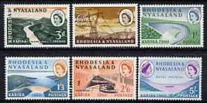 Rhodesia & Nyasaland 1960 Opening of Kariba Hydro-ele...