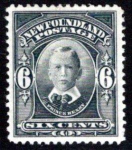 101, NSSC,Newfoundland, 6c, Prince Henry, MNHOG, VF, Scott 109