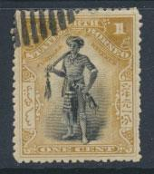 North Borneo  SG 93   Used  perf 13½ x 13¾     please see scan & details