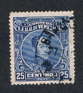 Venezuela 276a Perf 14 Used (V0105)