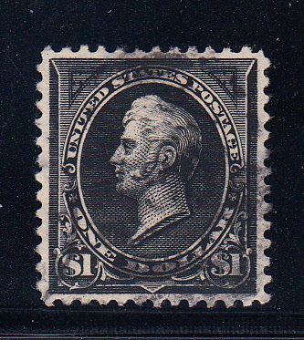 US #276 XF used lightly cancelled Gem! Tough stamp.
