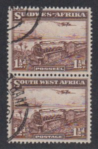 Southwest Africa - 1937 - SC 110 - Used - Pair