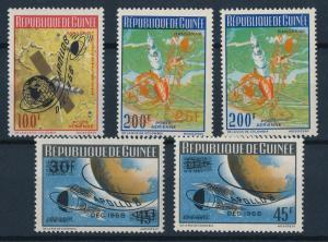 [64238] Guinea 1969 Space Travel Weltraum Overprint Apollo 8 From Set MNH