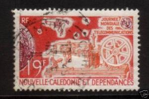 NEW CALEDONIA 1971 TELECOMMUNICATIONS DAY SG 487