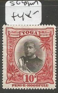 Tonga  SG 49 MOG (9chx)