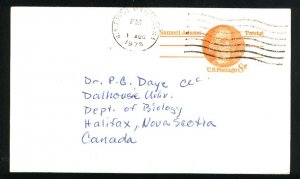USA  postcard 8 cent 1975  PD