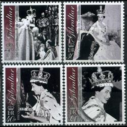 GIBRALTAR 2003 - Scott# 924-7 Coronation Set of 4 NH