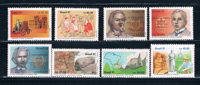 Brazil 2321-28 MNH Complete Issues (B0358)
