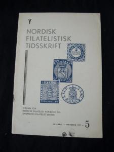 NORDISK FILATELISTISK TIDSSKRIFT OCT 1957