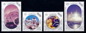 [65051] Vanuatu 1989 Space Travel Weltraum Apollo 17  MNH