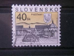 SLOVAKIA, 1995, used 40k, Scott 226, Castles & Churches