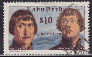 Cape Verde 278 USED 1952 Vicente Dias & Goncalo de Cintra