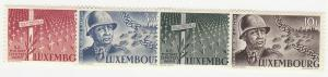 Luxembourg - 1947 - SC 242-45 - NH - Complete set - Patton