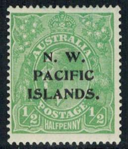 North West Pacific Islands Scott 40 Unused hinged.