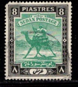 Sudan - #48 Camel Post - Used