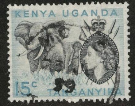 Kenya Uganda and Tanganyika KUT Scott 106 used