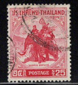 Thailand Scott 304 Used War elephant stamp