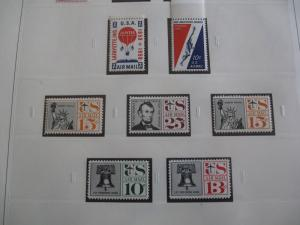 USA Nearly Complete Airmail Collection WITH ZEPPS - Mint & Hinged