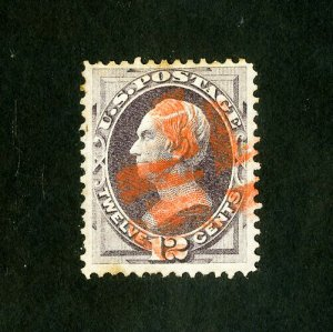 US Stamps # 151 XF Deep color striking red cancel
