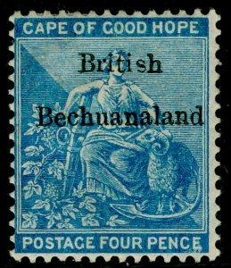 BECHUANALAND SG3, 4d dull blue, M MINT. Cat £95.