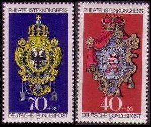 Germany FIP Congress 1973 2v SG#1658-1659