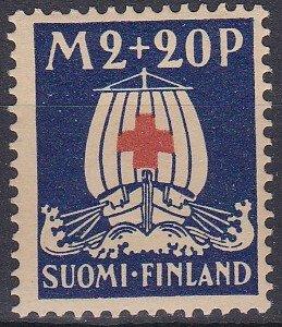 Finland Sc #B4 Mint Hinged; Mi #160