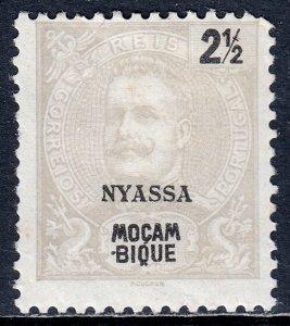 Nyassa - Scott #13 - MH - Lt. corner crease LL, perf fold UR - SCV $1.40