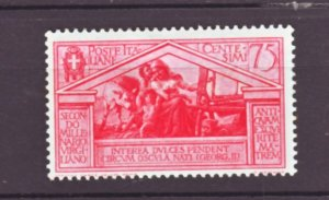 J22555 Jlstamps 1930 italy mh #253 woman at loom
